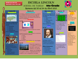 Escuela LINCOLN - WordPress.com