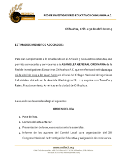 convocatoria en PDF - La Red de Investigadores Educativos