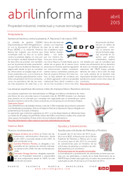 Abril Informa General Abril 2015