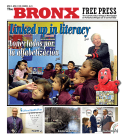 Linked up in literacy - The Bronx Free Press