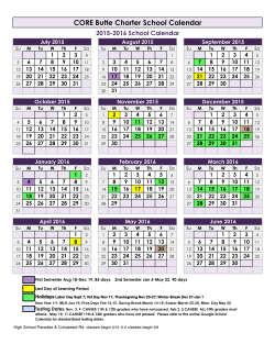 2015 2016 Calendar for Web - CORE Butte Charter School