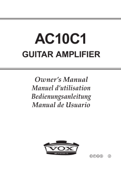 AC10C1 Owner`s Manual