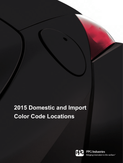 OEM Color Code Locations Guide