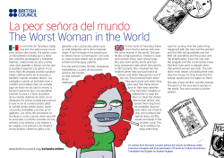 La peor señora del mundo The Worst Woman in