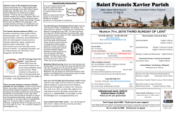 Saint Francis Xavier Parish - Saint Francis Xavier Church
