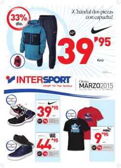 Marzo - Intersport