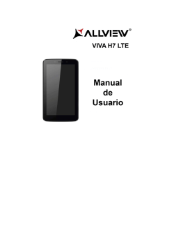 Manual Allview Viva H7 LTE
