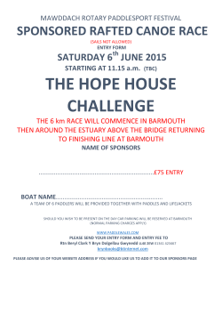 THE HOPE HOUSE CHALLENGE