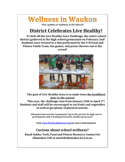 Wellness - Allamakee Community School District