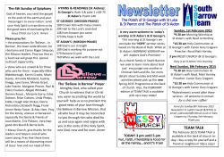Newsletter - the South Barrow Team website