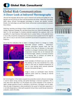 A Closer Look at Infrared Therography [ PDF 905 kB ]