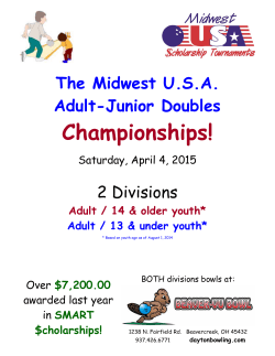 Midwest USA Adult-Junior Doubles Championships