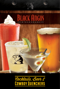 BeveraGes - Black Angus Steakhouse