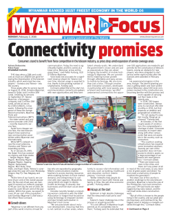 MYANMAR RANKED 161ST FREEST ECONOMY IN THE WORLD 6