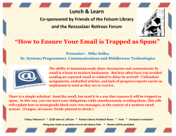 How to Ensure Your Email is Trapped as Spam