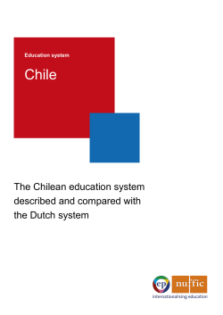 Education system Chile