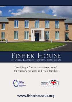 Fisher House Brochure
