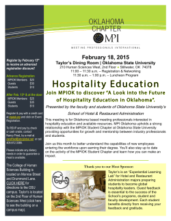 February Educational Luncheon