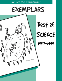Science Exemplars 052