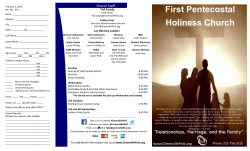 First Pentecostal Holiness Church