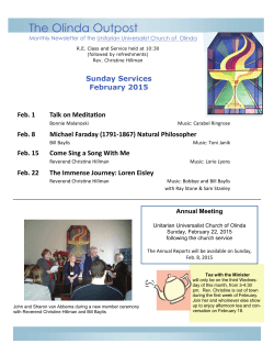 February 2015R2web - Unitarian Universalist Church of Olinda