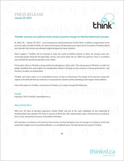 ThinkNL Press Release v1c.ai