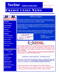 credit union news credit union news