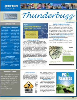 Thunderbuzz - Balfour Beatty Communities