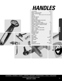 Handles - Action Fabrication and Truck Equipment