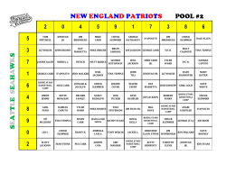 seattleseahawks new england patriots pool #2