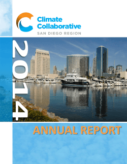 ANNUAL REPORT - SD Climate Collaborative