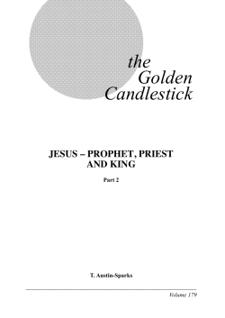 the Golden Candlestick