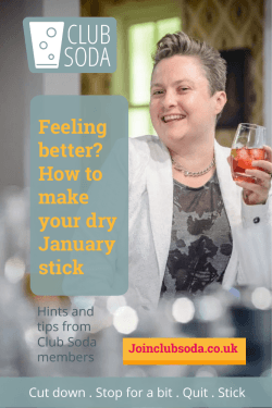 Feeling better? How to make your dry January stick