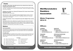 Printable copy of the Winter 14-15 programme
