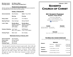 Click here - Schertz church of Christ