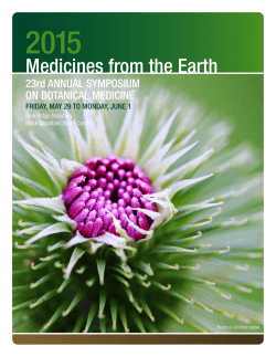 Medicines from the Earth Herb Symposium