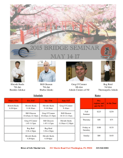 Flyer here - River Of Life Martial Arts And Wellness Center