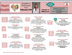 ShopRite of Sewell, NJ February 2015 Calendar