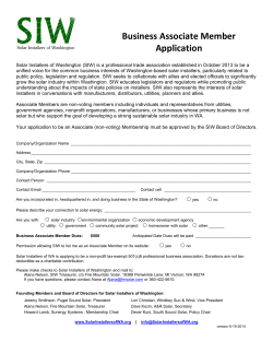 Download SIW Associate Member Application