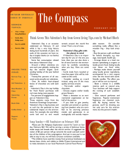 February 2015 COMPASS Newsletter