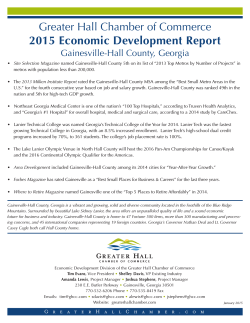 2015 Economic Development Report