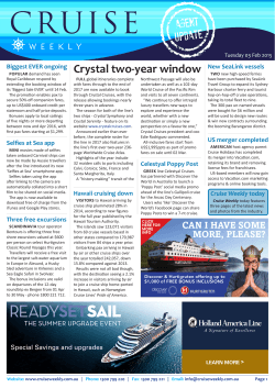 Cruise - Travel Daily
