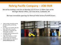 Rehrig Pacific Company – JOB FAIR