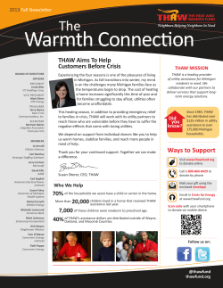 Warmth Connection - The Heat and Warmth Fund