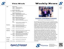 Latest Weekly News