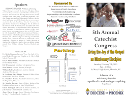 5th Annual Catechist Congress