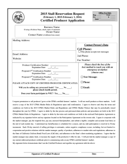 2015 Certified Producer Application (PDF)