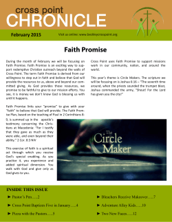 Cross Point Chronicle - February 2015