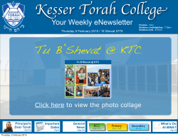 High School - Kesser Torah College