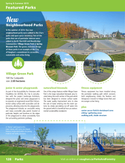 Featured Parks - City of Vaughan